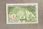 Stamps France -  Escuela central de Artes y Artesanía
