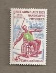 Sellos de Europa - Francia -  Juegos mundiales para descapacitados