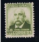 Stamps Europe - Spain -  Edifil  nº  672   República Española    Emilio Castelar
