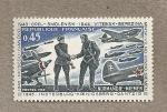 Stamps France -  Escuadrón francés que luchó en el frente ruso