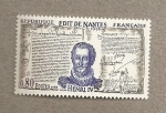 Stamps Europe - France -  Edicto de Nantes