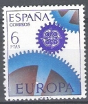 Stamps Spain -  Europa-C.E.P.T. Engranajes.