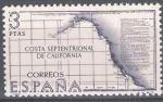 Stamps Spain -  Forjadores de America. Costa Septentrional de California.