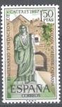 Stamps Spain -  Bimilenario de la fundación de Cáceres. Arco de Cristo.