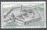 Sellos de Europa - España -  Monasterio de la Veruela. Vista general del Monasterio.