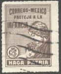 Sellos del Mundo : America : México : Haga Patria. Proteja a la infancia.
