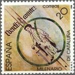 Sellos del Mundo : Europa : España : 2960 - Milenario de Cataluña - Borrel II, Conde de Barcelona