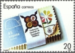 Stamps : Europe : Spain :  2962 - XXV Aniversacio de la Federacíon Española de Sociedades Filatélicas, FESOFI
