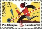 Sellos del Mundo : Europa : España : 2964 - Barcelona '92 - Atletismo