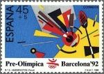 Sellos del Mundo : Europa : España : 2965 - Barcelona '92 - Badminton