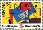 Sellos del Mundo : Europa : España : 2966 - Barcelona '92 - Baloncesto