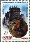 Stamps : Europe : Spain :  2967 - 750 aniversario de la Reconquista del Reino de Valencia por Jaime I