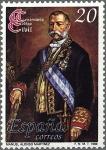 Stamps : Europe : Spain :  2968 - I Centenario del Código Civil - D. Manuel Alonso Martínez, ministro de Gracia y Justicia