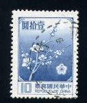 Stamps Asia - China -  Cerezo en flor