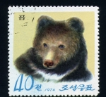 Stamps Asia - North Korea -  oso