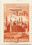 Sellos de Europa - Hungría -  KAIRO