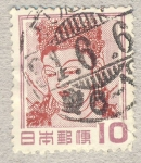 Stamps Japan -  Mujer