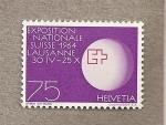 Stamps Switzerland -  Exposición Nacional Lausana