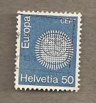 Stamps Switzerland -  Europa CEPT