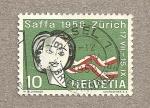 Stamps Switzerland -  Expo Saffa Zürich