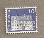 Stamps Switzerland -  Mansión Freuler Naffels