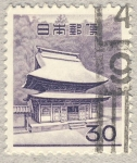 Stamps Japan -  templo