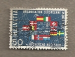 Stamps Switzerland -  Organización Europea de Investigación Nuclear