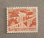 Sellos de Europa - Suiza -  Viaductos