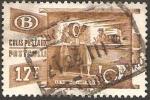 Stamps Belgium -  327 - servico paquete postal, cartas