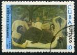 Stamps Cuba -  Pintores Cubanos