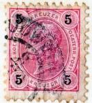Stamps Europe - Austria -  1890 Francisco Jose valor en kreuzer