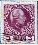 Stamps Austria -  1908 60 Aniversario del reinado de Francisco Jose: Jose II