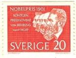 Sellos de Europa - Suecia -  En honor de los ganadores del premio Nobel de 1901