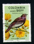 Stamps Colombia -  flora y fauna