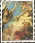 Stamps America - Paraguay -  Pinturas de Rubens