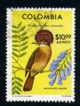 Stamps of the world : Colombia :  flora y fauna