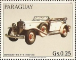 Stamps : America : Paraguay :  Autos Maybach