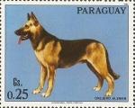 Sellos del Mundo : America : Paraguay : Perros de raza