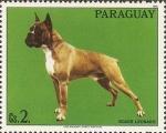 Stamps : America : Paraguay :  Perros de raza