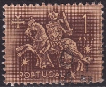 Stamps Europe - Portugal -  Ilustracion Medieval