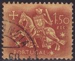 Stamps : Europe : Portugal :  Ilustracion Medieval