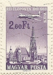 Stamps Hungary -  WIEN