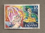 Stamps Spain -  Carnaval de Sta Cruz de Tenerife
