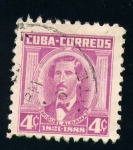 Stamps America - Cuba -  Miguel Aldama