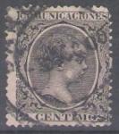 Sellos de Europa - España -  Alfonso XIII, Pelón.