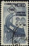 Stamps Mexico -  Conmemorativa de la inauguración de la ruta internacional  C. Juarez - Ocotal.