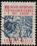 sellos de America - México -  VII Juegos deportivos Centroamericanos y del Caribe.