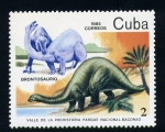 Stamps Cuba -  Valle de la prehistoria parque Nac. Baconao