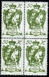 Stamps Liechtenstein -  1920 escudo y castillos