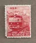 Stamps Norway -  Tren diesel
